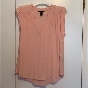 Pink short sleeve blouse from Forever 21